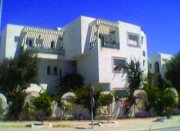 Vu extérieur sur la résidence Sami par kahloun Immobilière